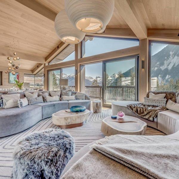 Chalet Bacchus, Courchevel, Consensio - Living Room