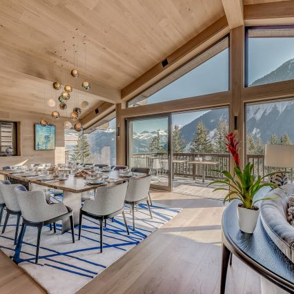 Chalet Bacchus, Courchevel, Consensio - Dining Room