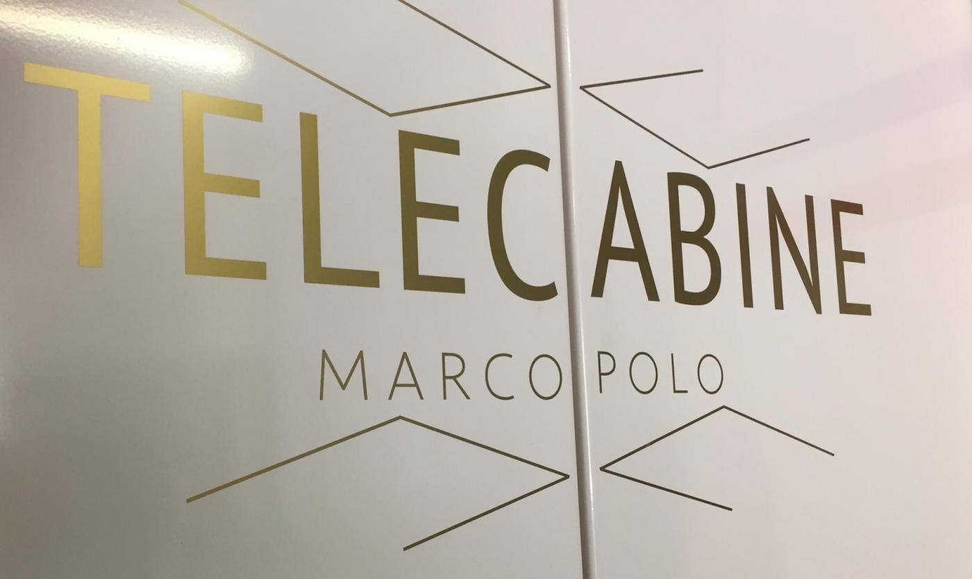 Telecabine, Marco Polo, Exclusive, Boot room, bubble lift
