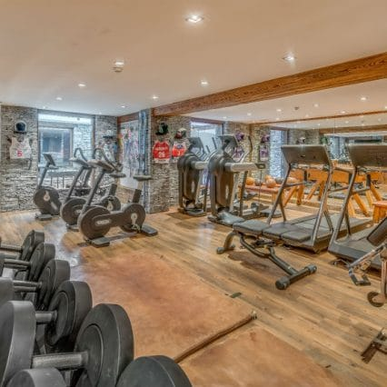 chalet marco polo gym