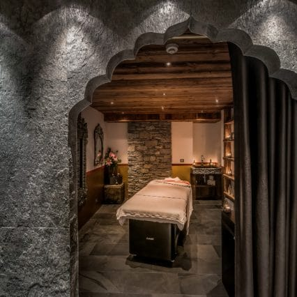 chalet marco polo massage room