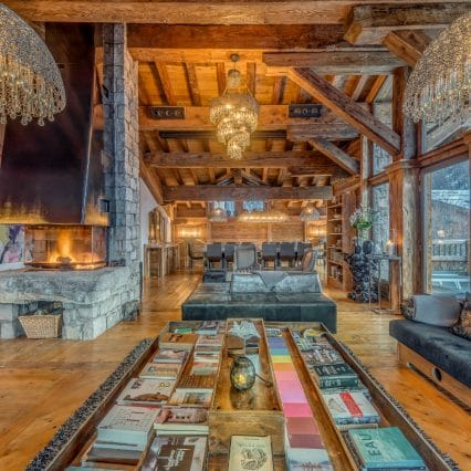 Chalet Maro Polo Living Room