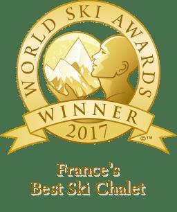 Award Best Ski Chalet France 2017