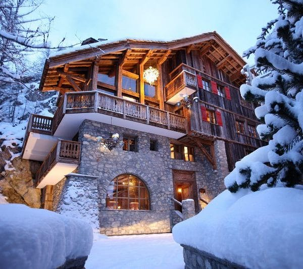 chalet le rocher in val disere