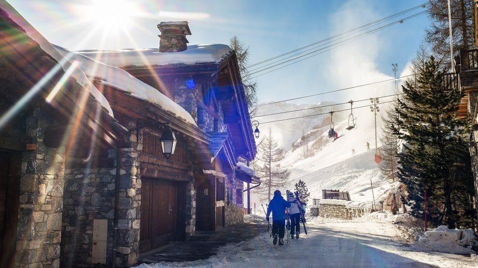Ski in / Ski Out Chalets