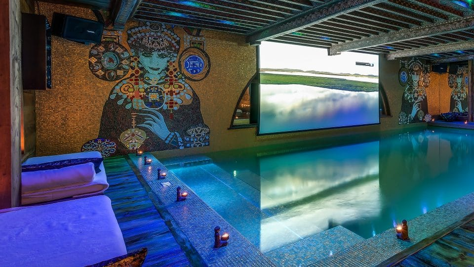 Chalets with Swimming Pools