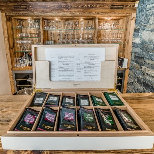 Ultimate Tea Box, tea selection, best afternoon tea in the alps