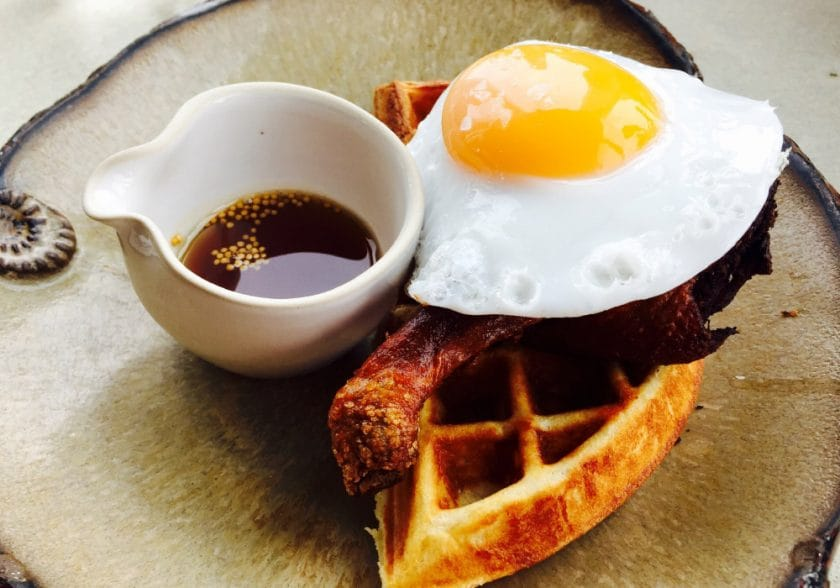 Lunch at Duck & Waffle