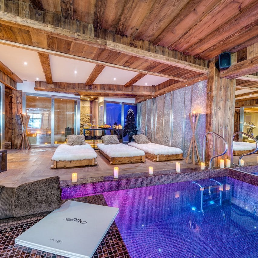 Spa Day in Val d'Isere, wellness, bien etre