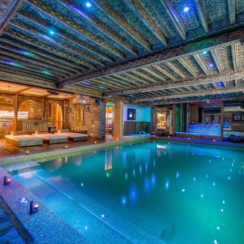 High end Ski CHalet val disere, france, chalets with staff