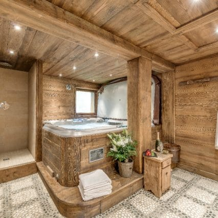 chalet chopine spa meribel