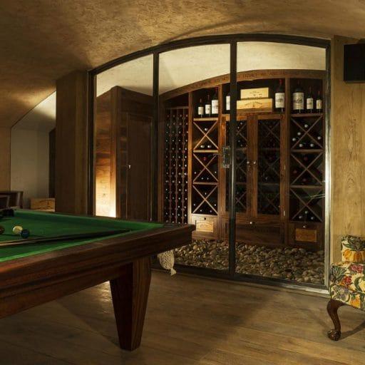 Grande Corniche Les Gets wine cellar