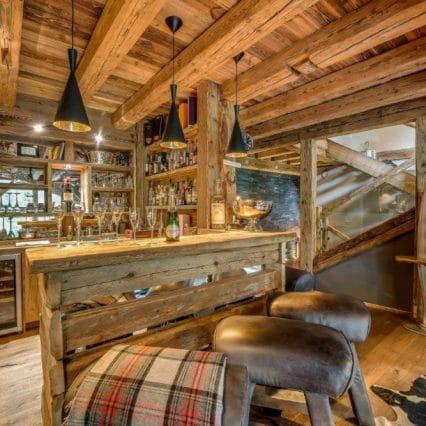 Chalet Jejalp Morzine bar