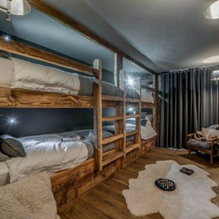 Chalet Jejalp Morzine bunkbeds
