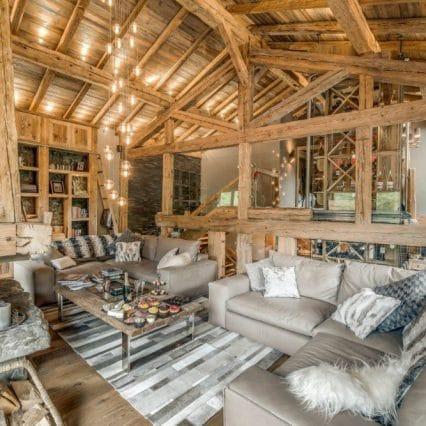 Chalet Jejalp Morzine living room