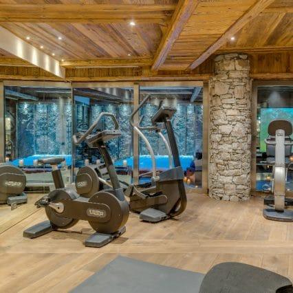 chalet lhotse gym