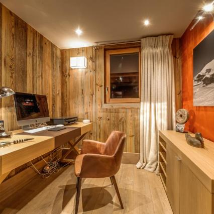 award winning, meribel, open fire, cinema, pool, spa, hottub, office from home, work away