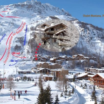 Chalet Montana Exterior val disere