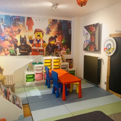 Chalet Le Rocher Playroom Consensio