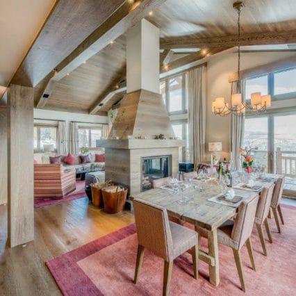 chalet shemshak dining room