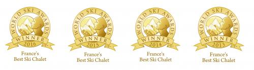 world ski awards- best ski chalet France