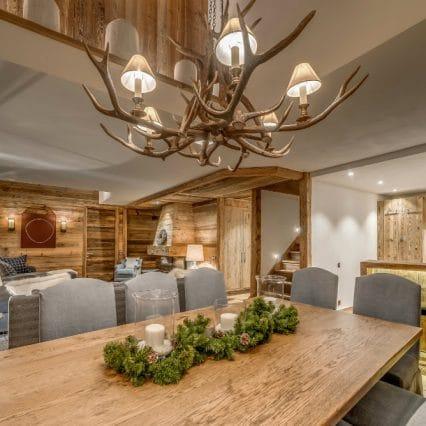 Etoile Filante val disere dining room