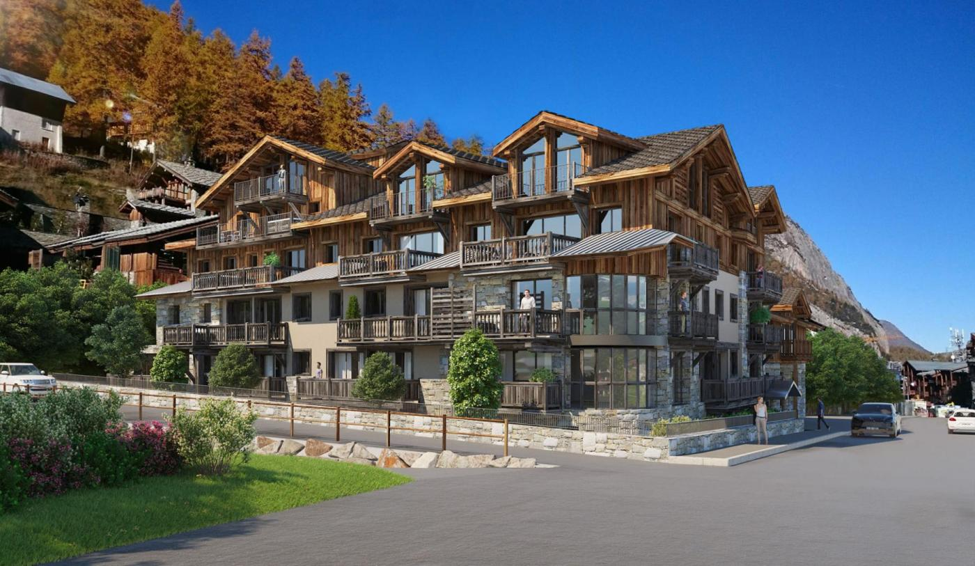 Etoile Filante. Shooting Star, Chalet Apartment, Interior Designer, val d isere