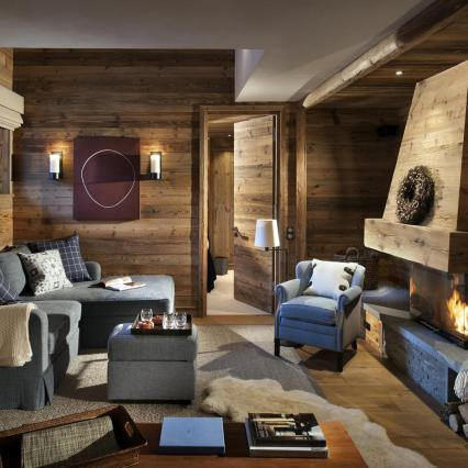 Etoile Filante. Shooting Star, Chalet Apartment, Interior Designer, Luxury Ski