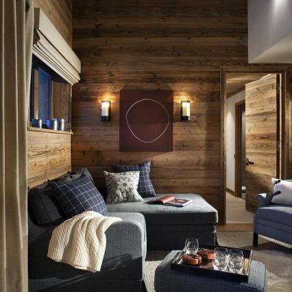 Etoile Filante. Shooting Star, Chalet Apartment, Interior Designer