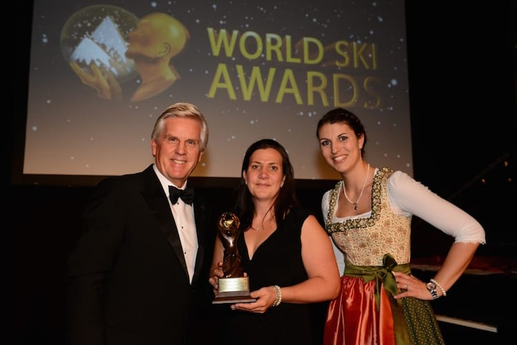 Grande Corniche wins title of the 'The Best Ski Chalet in France' at the World Ski Awards 2015