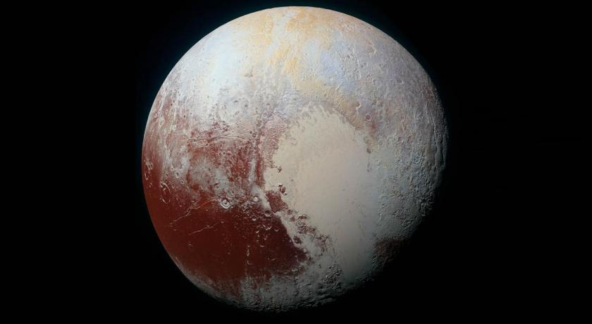 Snow Found on Pluto!