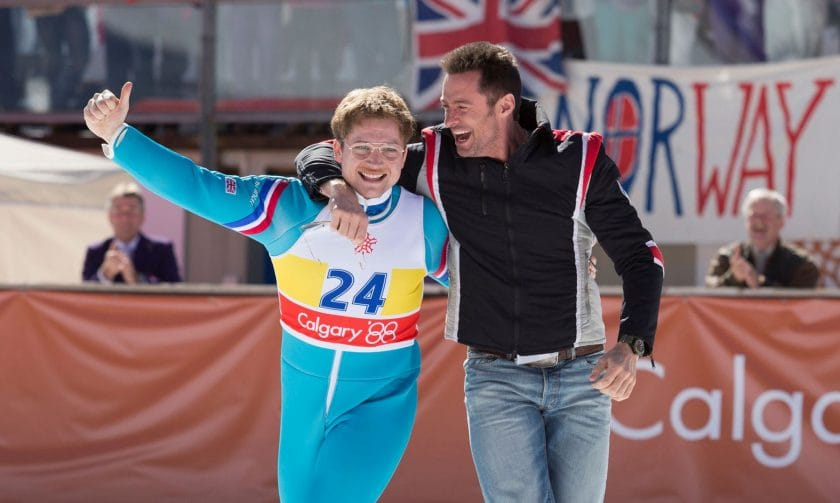 'Eddie the Eagle' on the big screen