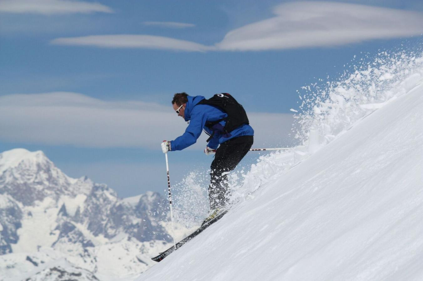 Off Piste, Skier, Luxury Ski, Advanced Ski Lessons