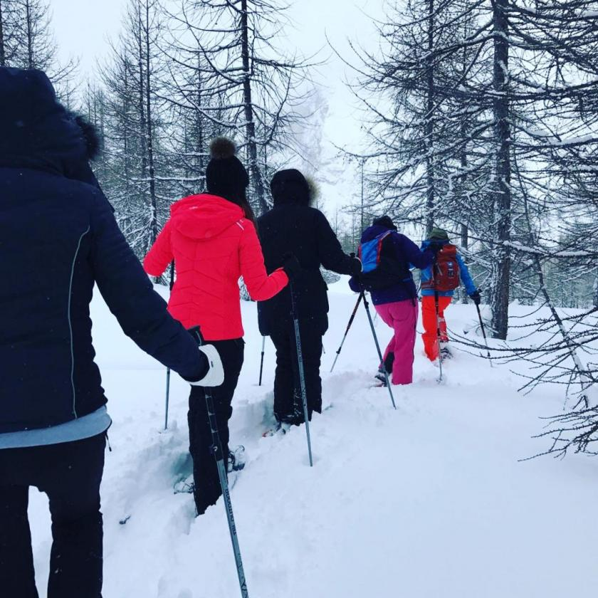 What happens when the UK's top luxury travel & lifestyle journalists travel to the French Alps