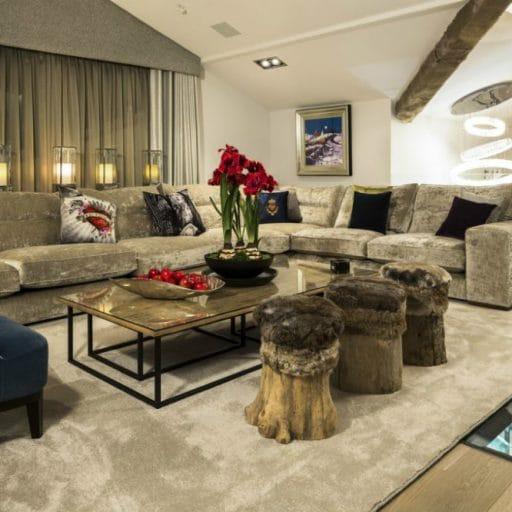 Urban Corniche Les Gets Living room