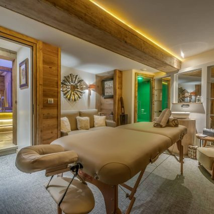 Chalet Le Namaste Courchevel 1850 Massage Room Consensio
