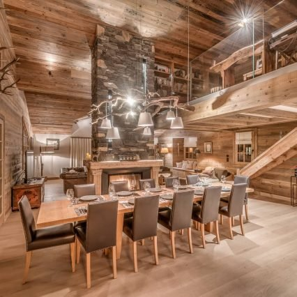 Chalet Le Namaste Courchevel 1850 Dining Room Consensio