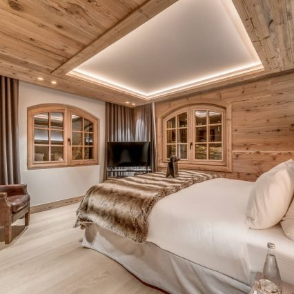 Chalet Le Namaste Courchevel 1850 Bedroom Consensio
