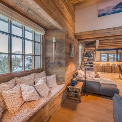 Chalet Le Namaste Courchevel 1850 Living Room Consensio