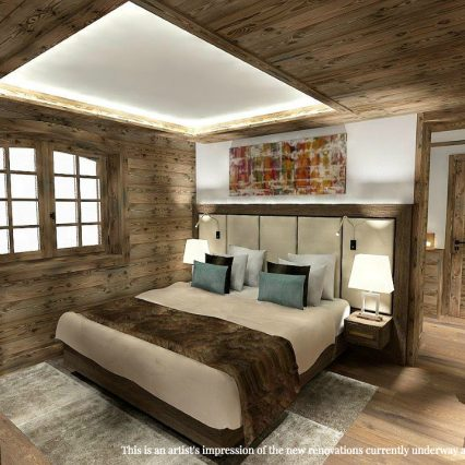 Artists Impression - Chalet Namaste - bedroom 3