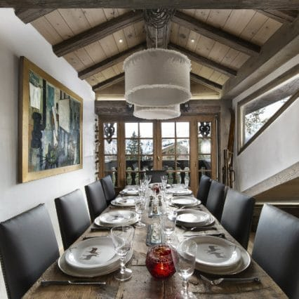 Ski in Ski out, Luxury Chalet, Open Plan, Bellecote, Courchevel 1850