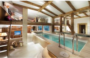 New Chalet- Winter 2017/18- SwimmingPool-Courchevel1850-