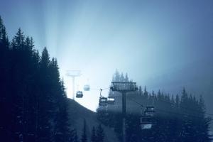 Courchevel Trees, Best place to ski, tips, Ski view
