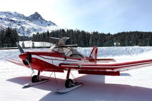 Meribel Courchevel Altiport Flight