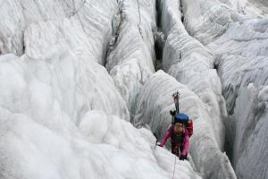 glacier, adventure, thisgirlcan, climbing