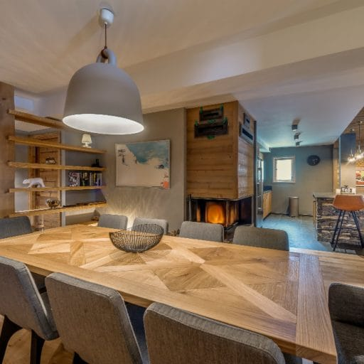 ski in apartment val disere