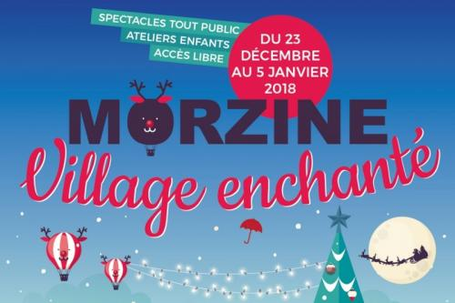 Morzine Enchanted Christmas Village, Christmas in the alps