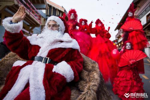 Meribel Christmas, Santa show