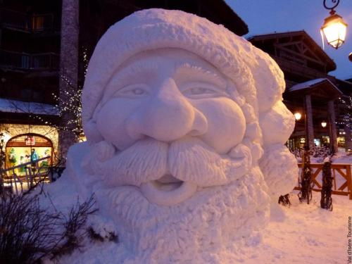 val d'isere, christmas ski