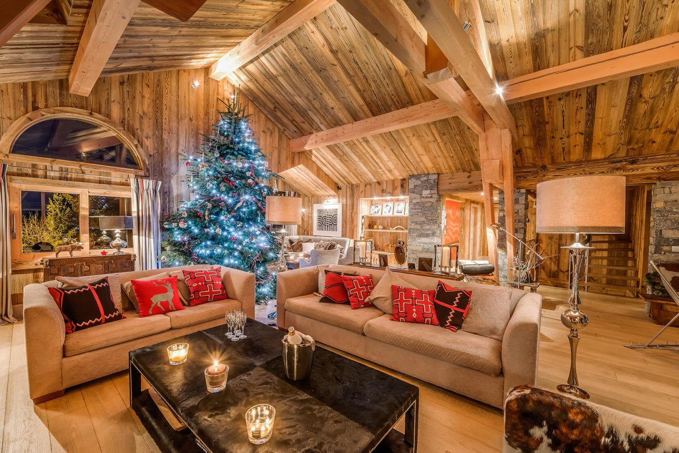 book a luxury christmas chalet france french alps